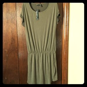 Olive Green Slouchy Dress